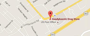 Directions to Goody Koontz